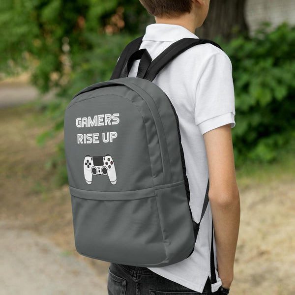 Gamers Rise Up Backpack shopyourmeme