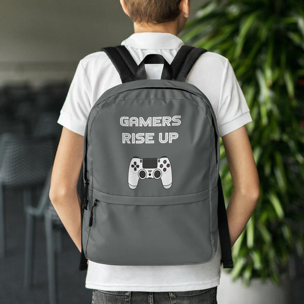 Gamers Rise Up Backpack shopyourmeme Default Title