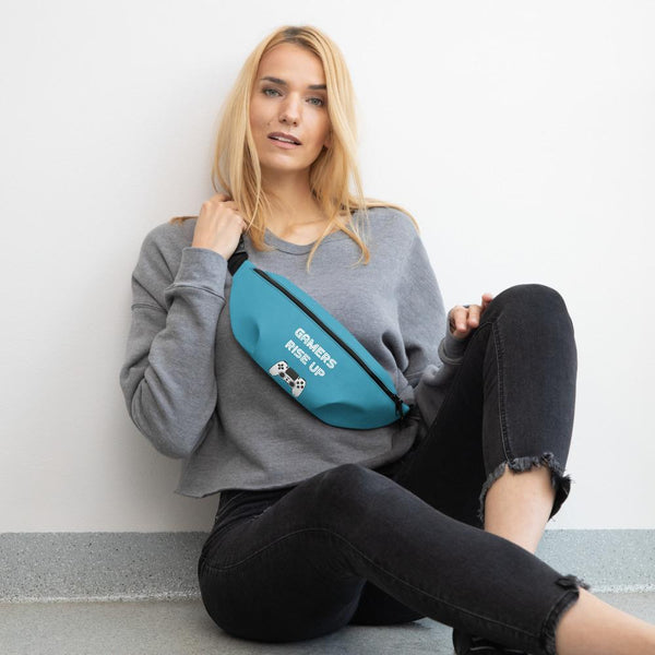 Gamers Rise Up Fanny Pack shopyourmeme S/M
