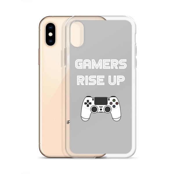 Gamers Rise Up iPhone Case shopyourmeme