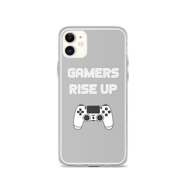 Gamers Rise Up iPhone Case shopyourmeme iPhone 11