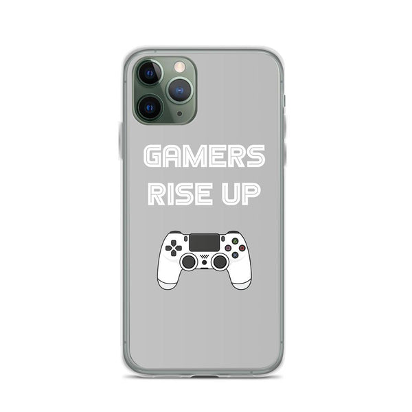 Gamers Rise Up iPhone Case shopyourmeme iPhone 11 Pro