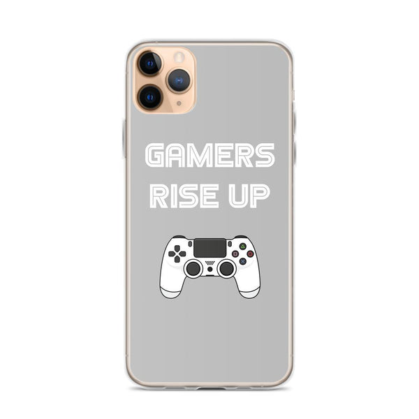 Gamers Rise Up iPhone Case shopyourmeme iPhone 11 Pro Max