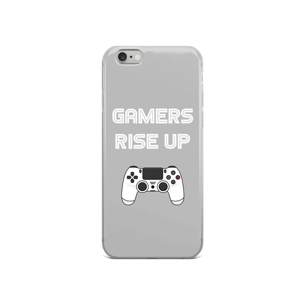 Gamers Rise Up iPhone Case shopyourmeme iPhone 6/6s