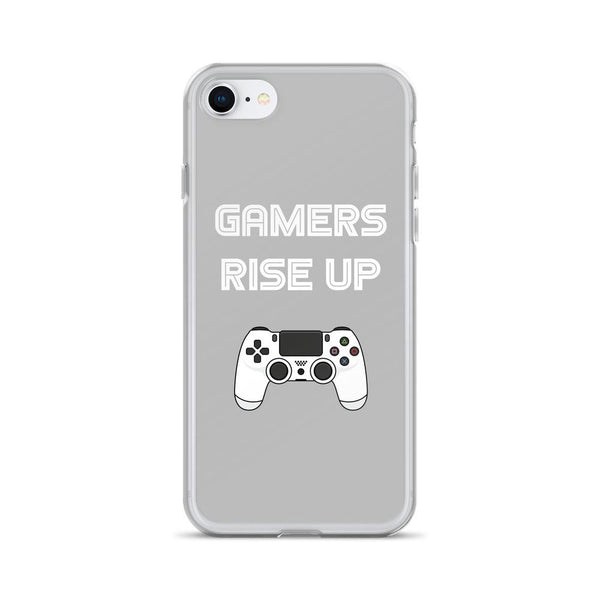 Gamers Rise Up iPhone Case shopyourmeme iPhone 7/8