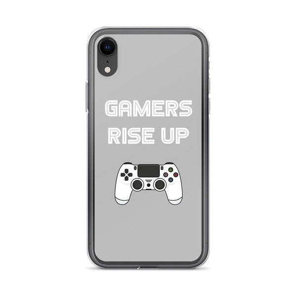 Gamers Rise Up iPhone Case shopyourmeme iPhone XR