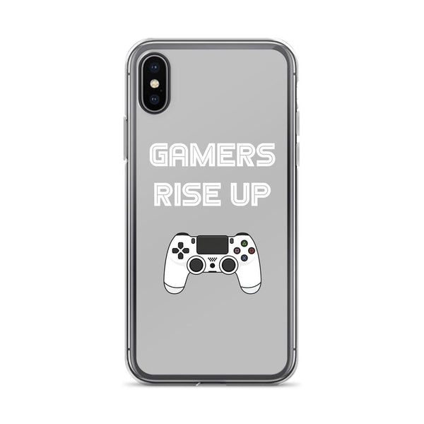 Gamers Rise Up iPhone Case shopyourmeme iPhone X/XS