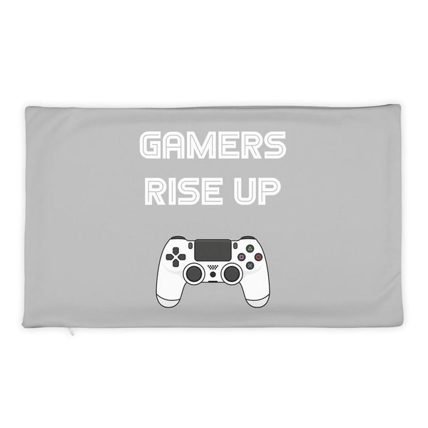 Gamers Rise Up Pillow Case shopyourmeme