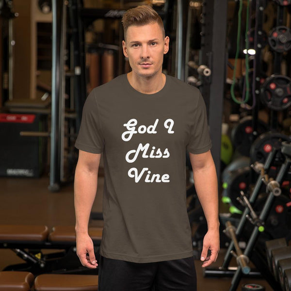 God I Miss Vine T-Shirt shopyourmeme Army S