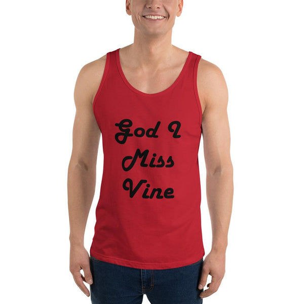 God I Miss Vine Tank Top shopyourmeme Red XS
