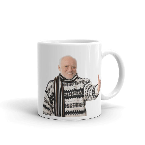 Hide The Pain Harold Mug shopyourmeme