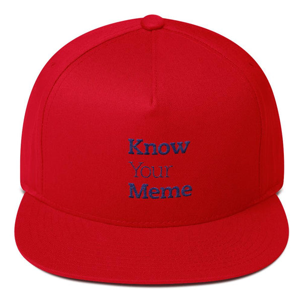 Know Your Meme 5 Panel Hat shopyourmeme Red