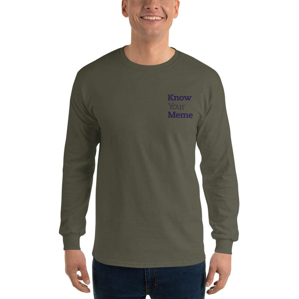 Know Your Meme Long Sleeve T-Shirt shopyourmeme Military Green S