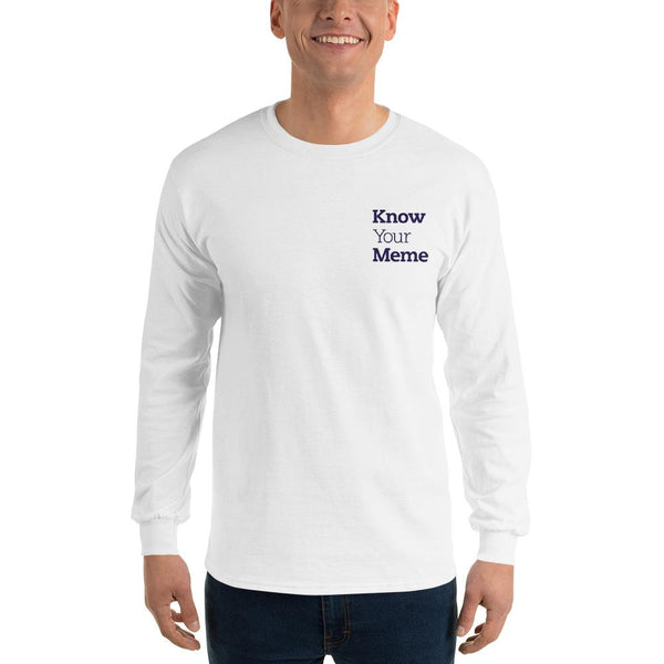 Know Your Meme Long Sleeve T-Shirt shopyourmeme White S