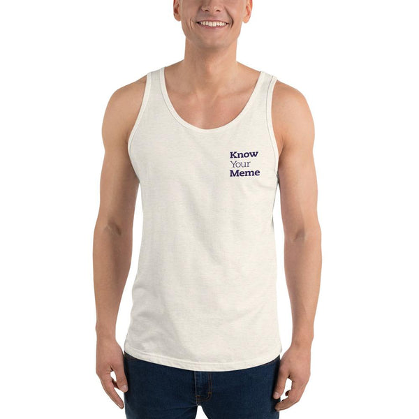 Know Your Meme Tank Top shopyourmeme Oatmeal Triblend XS