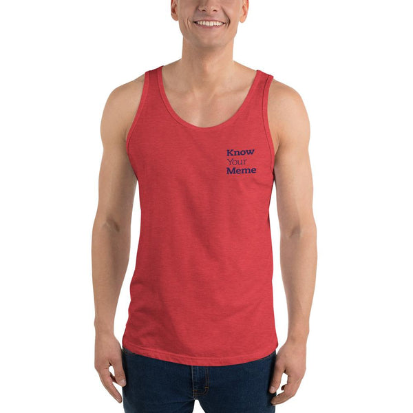 Know Your Meme Tank Top shopyourmeme Red Triblend XS