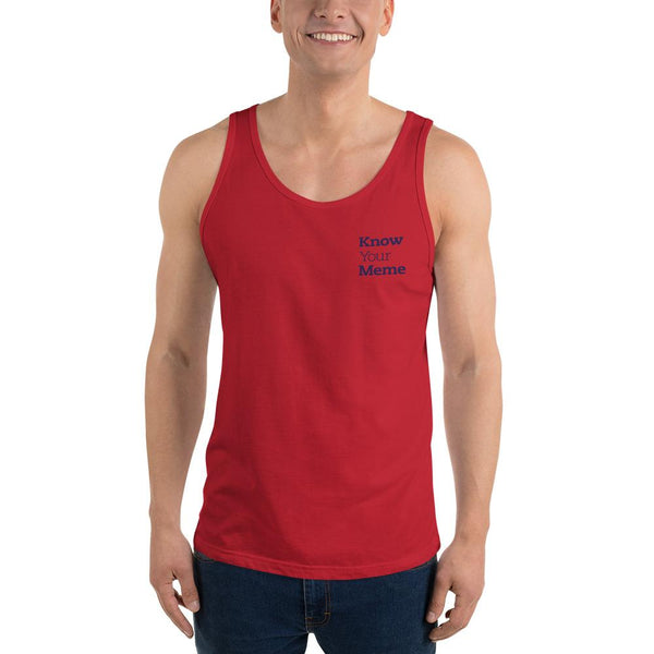 Know Your Meme Tank Top shopyourmeme Red XS