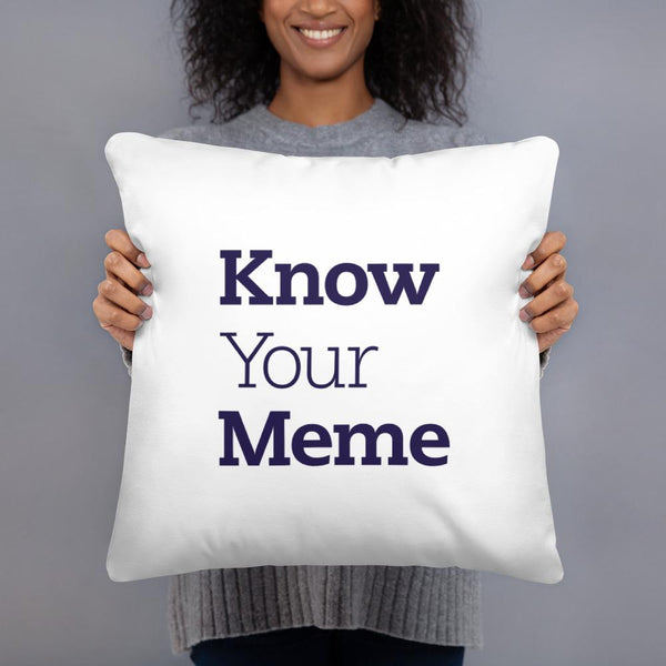 Know Your Meme Throw Pillow shopyourmeme 18×18