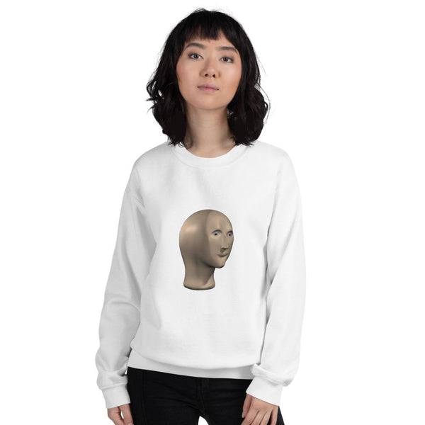 Meme man Sweatshirt shopyourmeme White M