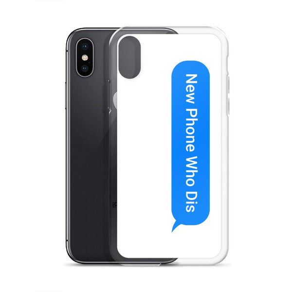 New Phone Who Dis iPhone Case shopyourmeme