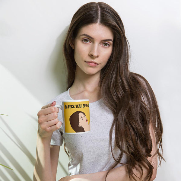 Oh Fuck Yeah Spread It Mug shopyourmeme 11oz