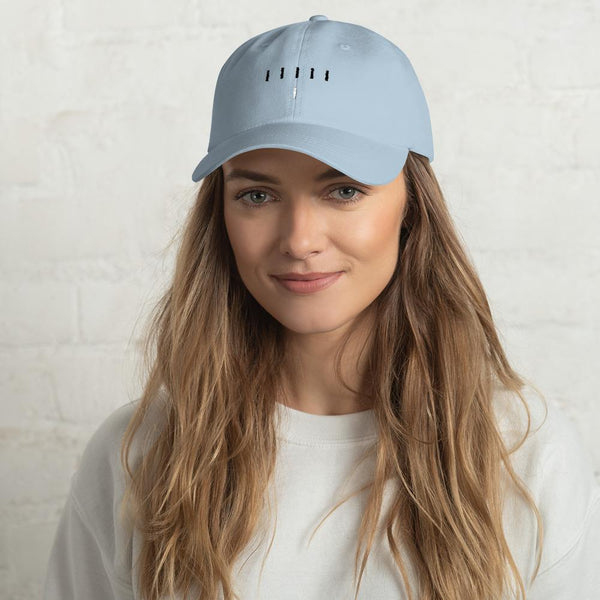Piper Perri Surrounded Dad Hat shopyourmeme Light Blue