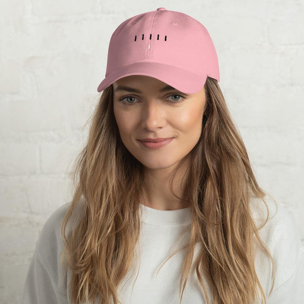 Piper Perri Surrounded Dad Hat shopyourmeme Pink