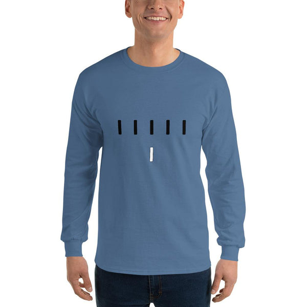 Piper Perri Surrounded Long Sleeve T-Shirt shopyourmeme Indigo Blue S