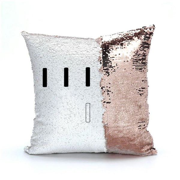 Piper Perri Surrounded Meme Sequin Pillow sequin pillow Podify Rose Gold