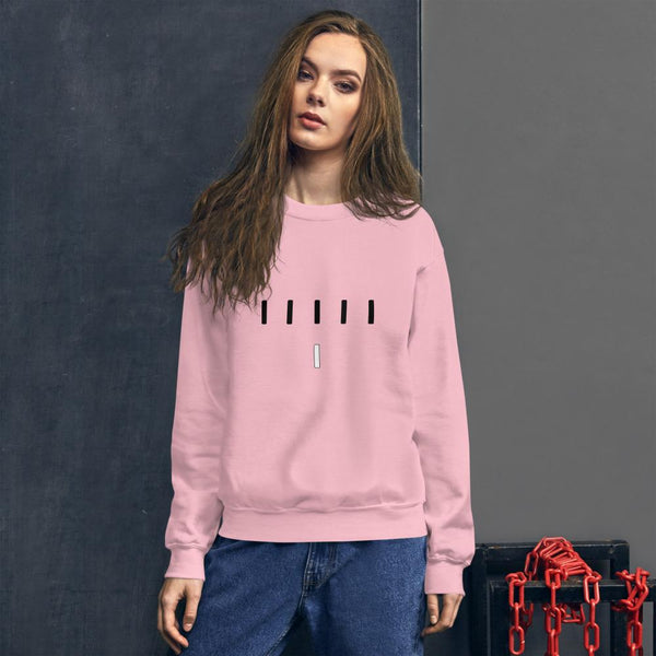 Piper Perri Surrounded Sweatshirt shopyourmeme Light Pink S
