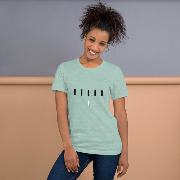 Piper Perri Surrounded T-Shirt shopyourmeme Heather Prism Dusty Blue S