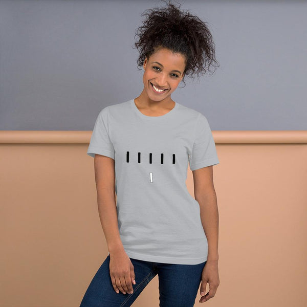 Piper Perri Surrounded T-Shirt shopyourmeme Silver S