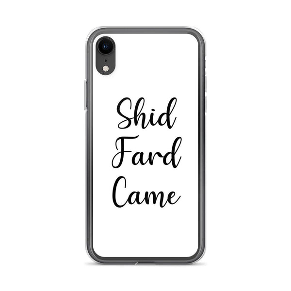 Shid Fard Came (Live Laugh Love Parody) iPhone Case shopyourmeme iPhone XR
