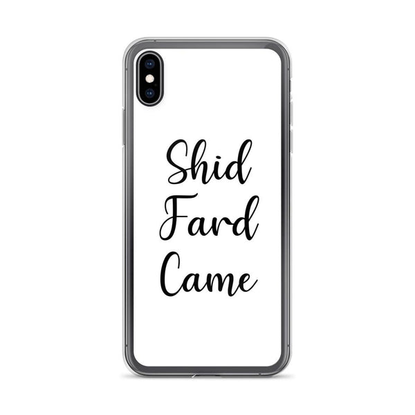 Shid Fard Came (Live Laugh Love Parody) iPhone Case shopyourmeme iPhone XS Max