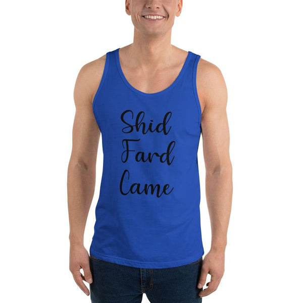 Shid Fard Came (Live Laugh Love Parody) Tank Top shopyourmeme True Royal XS