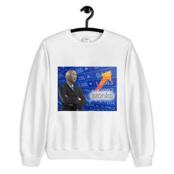 Stonks Sweatshirt shopyourmeme