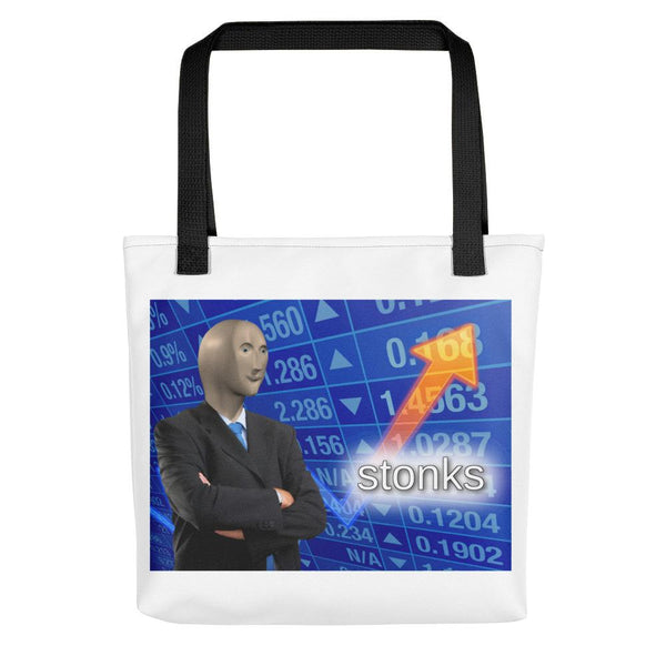 Stonks Tote Bag shopyourmeme