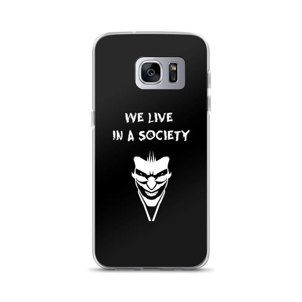 We Live In a Society Samsung Case shopyourmeme Samsung Galaxy S7 Edge