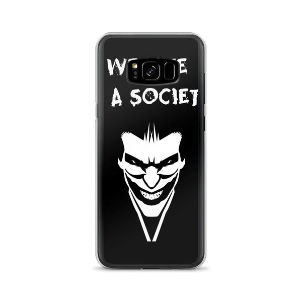 We Live In a Society Samsung Case shopyourmeme Samsung Galaxy S8+