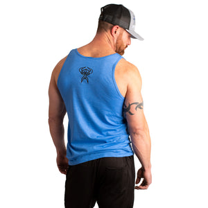 Men's Athletic Fit Frost Giant Tank Tops