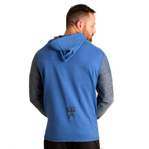 Men's Athletic Fit Frost Giant Fitness Hoodie