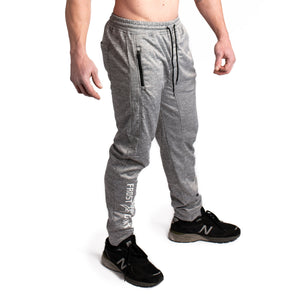 Athletic Joggers - Frost Giant Fitness Logo - Burnside Athletic Fit