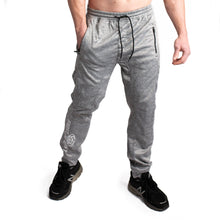 Load image into Gallery viewer, Athletic Joggers - Frost Giant Fitness Logo - Burnside Athletic Fit