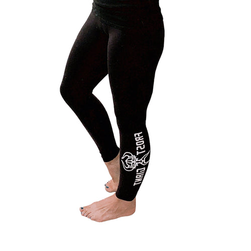 Bella Canvas Leggings-Frost Giant Fitness Logo