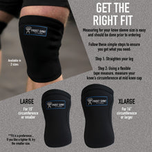 Load image into Gallery viewer, Knee Sleeve - Heavy Duty-5mm Neoprene Weightlifting, Crossfit, Powerlifting