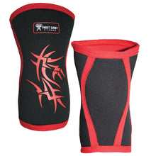 Load image into Gallery viewer, 7mm Reversible Neoprene Knee Sleeve for Weightlifting, Crossfit, and Gym Workouts.(1-Pair)