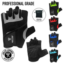 Load image into Gallery viewer, Weight Lifting Gym Gloves by Frost Giant Fitness – Sizes S-2XL