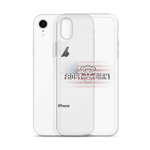 Clear iPhone Case BLACK LOGO