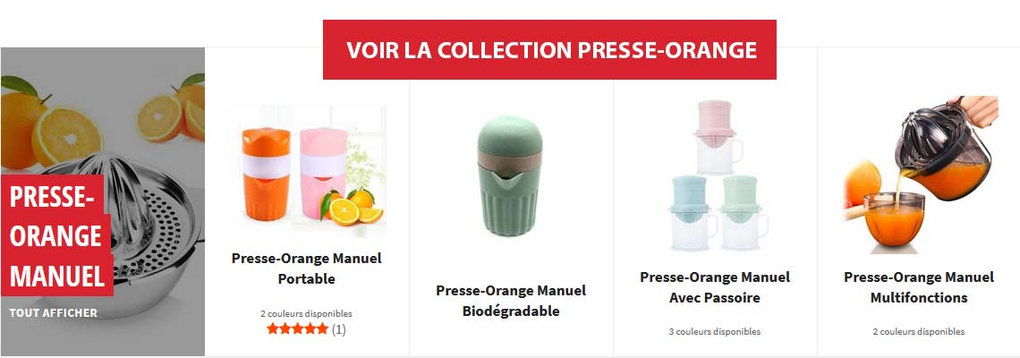 Collection Presse-Citron Manuel