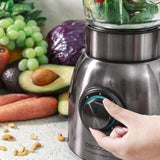 Mixeur Blender en Verre 1500W Smoothie gros plan